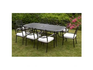Royalcraft Versailles 9pc 8 Seater Rectangular Stacking Set With Cushions
