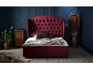 Oliver & Sons Florence 4ft6 Double Fabric Bed