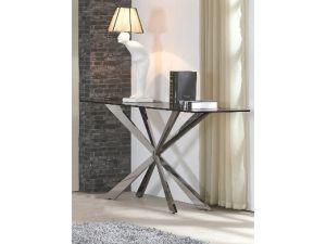 Fairmont Gabriella Glass Console Table