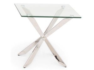 Fairmont Gabriella Glass Side Table