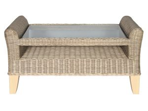 Habasco Wyndham Coffee Table In Natural Wash