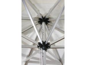 Westminster Halo 3.5M Round Natural Parasol