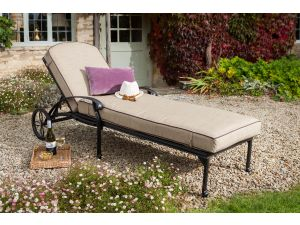 Hartman Amalfi Bronze Sun Lounger with FREE Cushion