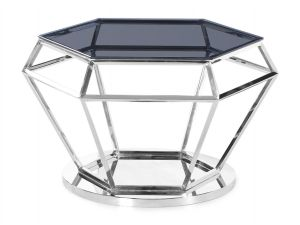 Fairmont Hector Smoked Glass Coffee Table