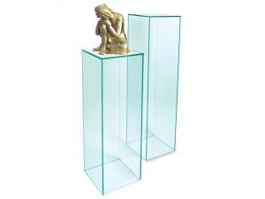 Greenapple Glass Column Display Stand Small