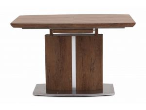 Fairmont Thiago 120-160cm Extendable Walnut Dining Table