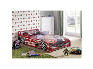 Julian Bowen Hornet Red Speeder Wooden Bed