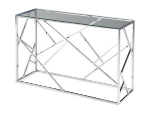 Fairmont Kieta Clear Glass Console Table