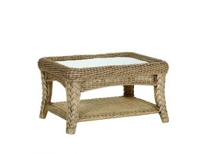 Cane Kirkland Rectangular Coffee Table
