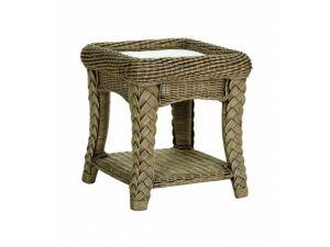 Cane Kirkland Side Table