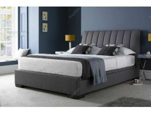 Kaydian Lanchester 4ft6 Double Grey Fabric Ottoman Storage Bed