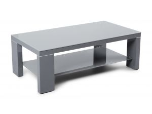 Fairmont Lucca Dark Grey High Gloss Coffee Table