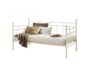 Birlea Lyon 3ft Single Cream Steel Daybed