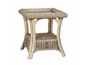 Cane Girona Side Table