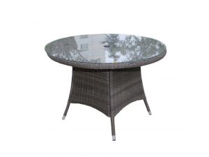 Royalcraft Madison 140cm Round Rattan Dining Table