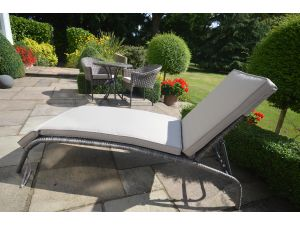 Leisuregrow Marseille Sunlounger with Cushion