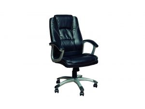 Office Black Leather Chair