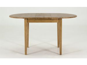 Cleo Natural Extending Wooden Dining Table
