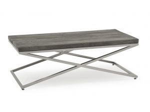 Tephra Grey Driftwood Console Table