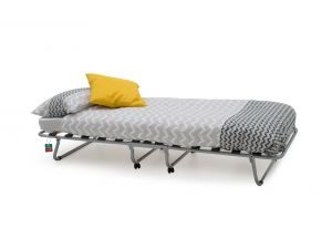 Noto Grey 80cm Metal Folding Bed