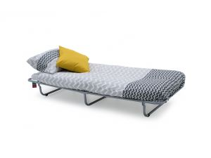 Enna Grey 80cm Metal Folding Bed