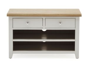 Ferndale Grey Painted with Oak Small Tv Unit