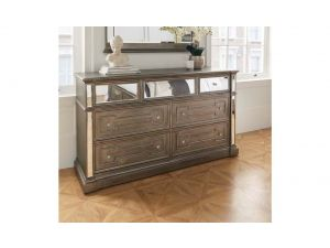 Ophelia Silver Wooden Dressing Chest