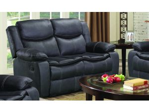 Merryn 2 Seater Azul Leather Reclining Sofa