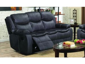 Merryn 3 Seater Azul Leather Reclining Sofa
