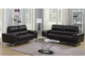 Fairmont Milan 3+2 Leather Sofa Set