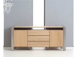 Ohio Solid Oak Sideboard