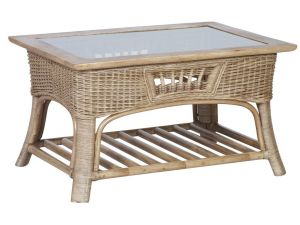 Cane Monza Coffee Table
