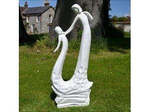 Europa Mothers Love Statue White