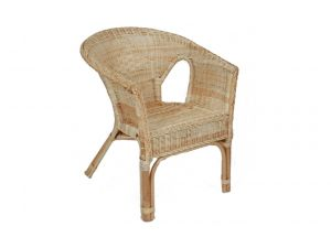 Natural Rattan Loom Chair