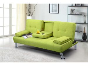 New Yorkdale Green Fabric Sofa Bed