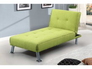 New Yorkdale Green Fabric Chaise Longue