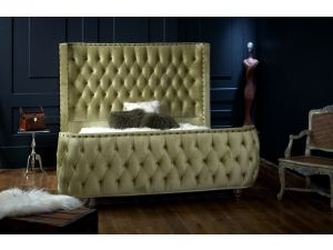 Oliver & Sons Olympia 4ft6 Double Fabric Bed
