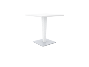 Westminster Orlando 70 X 70cm Pedestal Charcoal Table