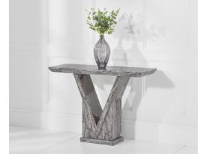 Minsk Grey Marble Console Table