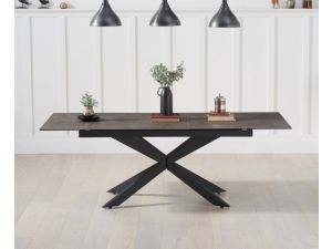 Britolli 180cm Mink Ceramic Ext. Dining Table