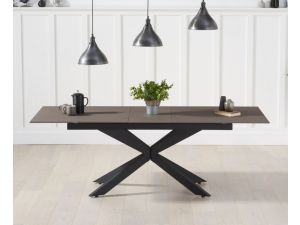 Britolli 180cm Brown Stone Ext. Dining Table