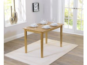 Chichester 115cm Painted Oak Wooden Ext. Dining Table