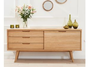 Tribeca Oak Sideboard