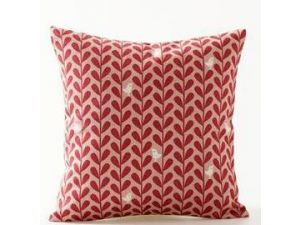 Royalcraft White Birds On Red Leaf Scatter Cushion