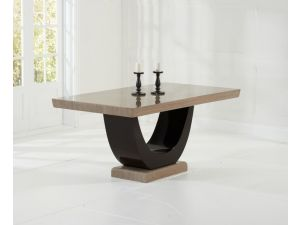 Rivilino 170cm Brown Constitued Marble Dining Table
