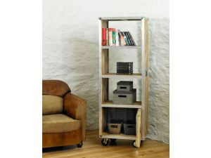 Roadie Chic Tall Bookcase with door