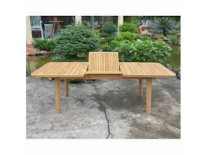 Royalcraft Acacia Sienna 180cm (Ext. 240) Wooden Extension Dining Table