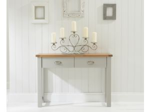 Sandringham Grey Wooden Console Table
