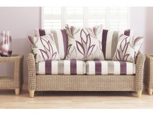 Cane Sarno 2.5 Seater Sofa With Scatter Back Cushions