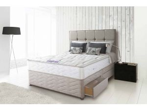 Sealy Posturepedic Pearl Firm Ortho Pocket 4ft6 Double Divan Set